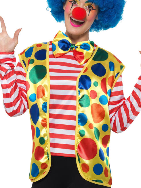 Adults Clown Kit Mens Ladies Circus Fancy Dress Accessory Comedy Party Outfit