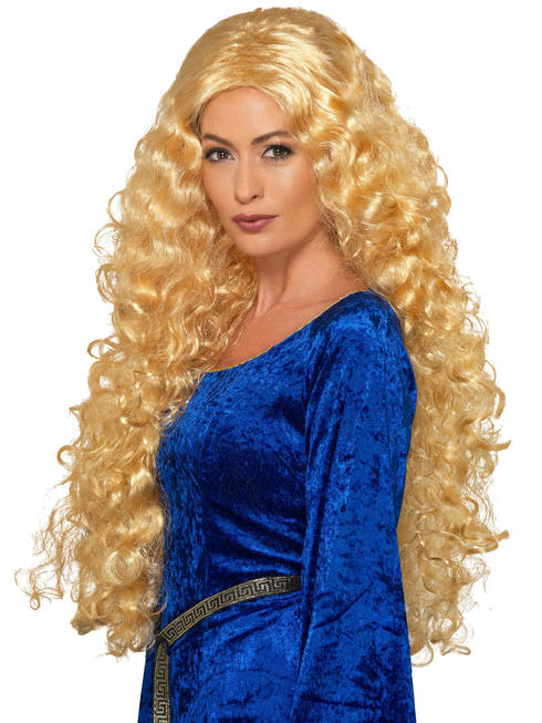 Ladies Medieval Warrior Queen Wig