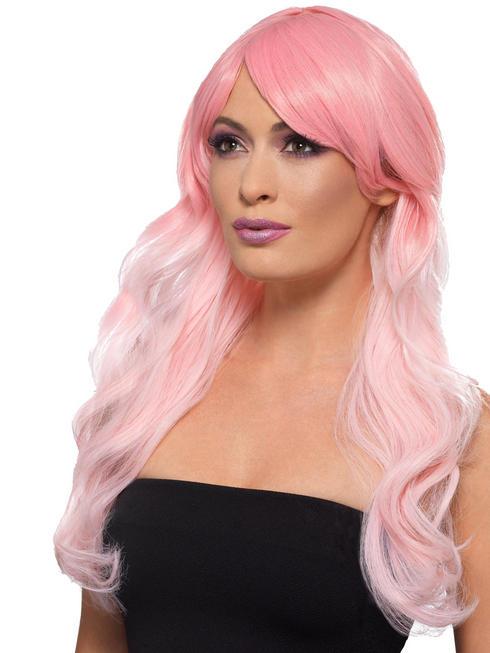 Ladies Unicorn Pink Wig