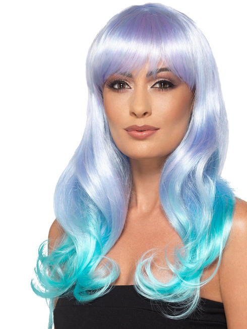 Ladies Fashion Ombre Wig - Unicorn