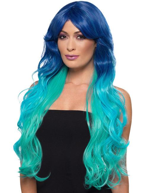 Ladies Fashion Ombre Wig - Mermaid