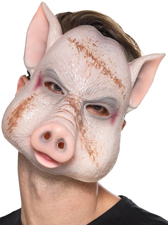 Killer Evil Pig Mask | All Halloween | Fancy Dress Hub