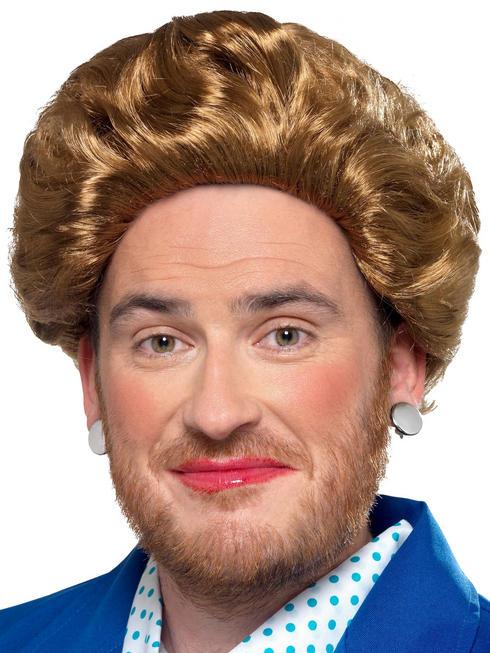 Men's Iron Lady Wig