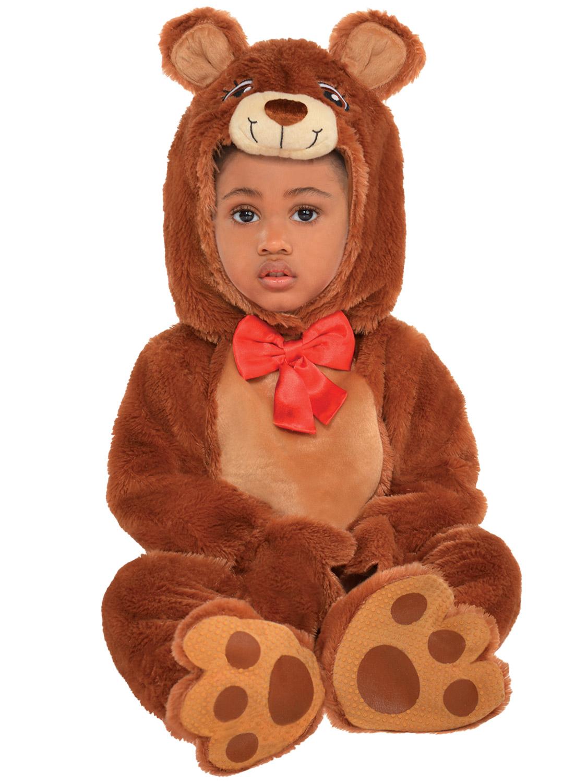 Girls Boys Toddler Baby Cuddle Teddy Bear Animal Fancy Dress Book Week Costume