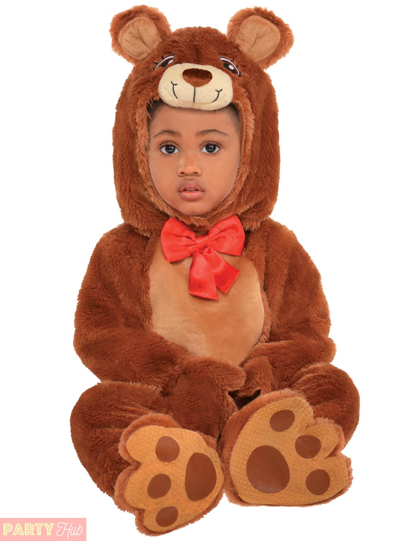 6aecc09fe961 Baby Toddler Cuddly Teddy Bear Costume Boys Girls Fancy Dress Book ...