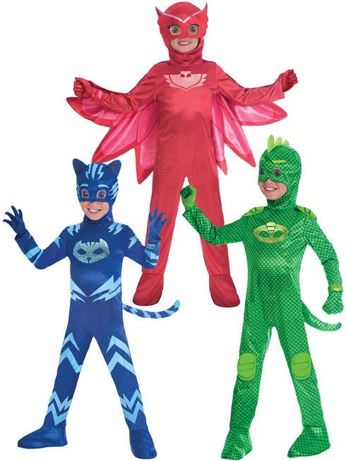 Boy's Deluxe PJ Masks Costume