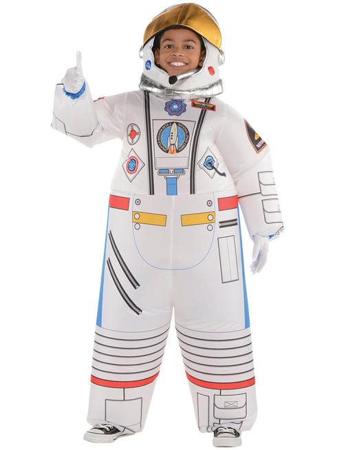 Boy's Inflatable Astronaut Costume