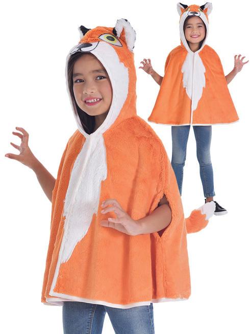 Child's Fox Hooded Cape