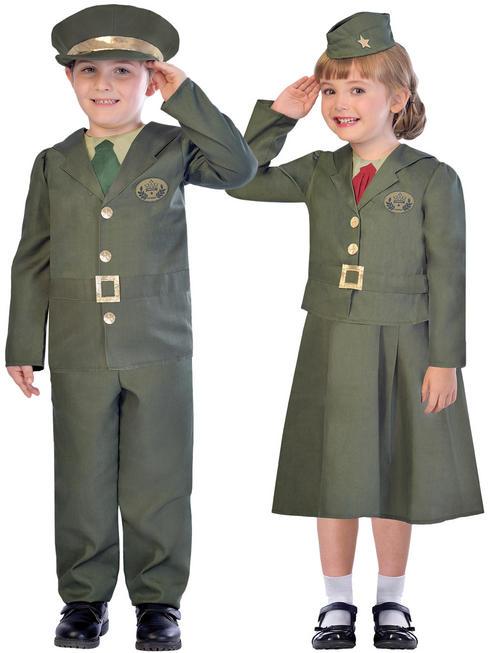 Child's WW2 Soldier Costume