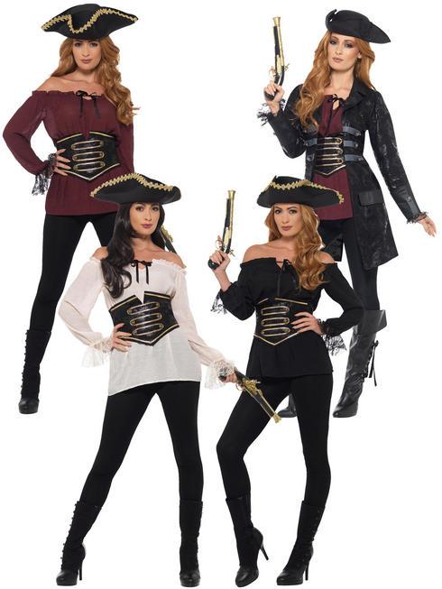 Ladies Deluxe Pirate Accessories