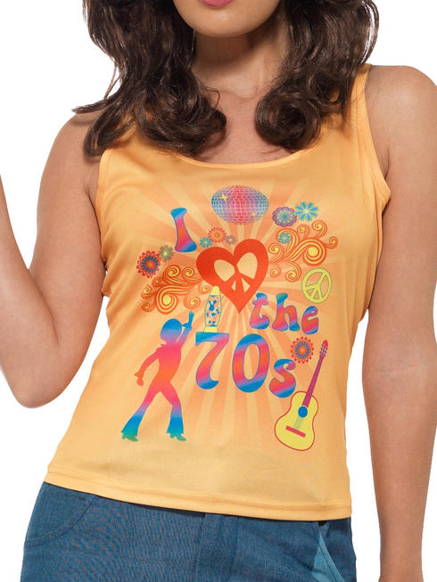 Ladies I Love the 70S Top