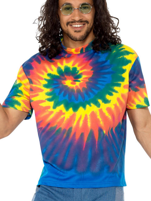 Men's 1960S Tie Dye T-Shirt