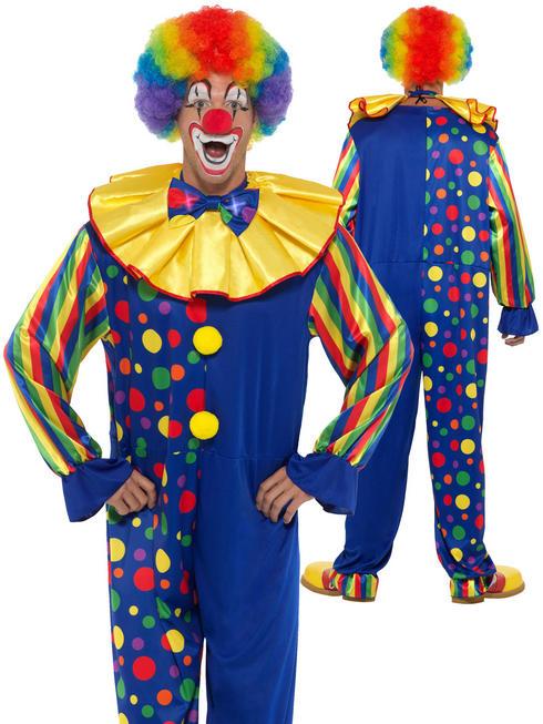 Men's Deluxe Clown Costume
