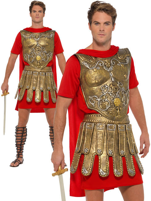 Men's Economy Roman Gladiator Costume