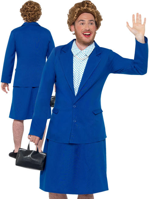 Men's Iron Lady Prime Minister Costume