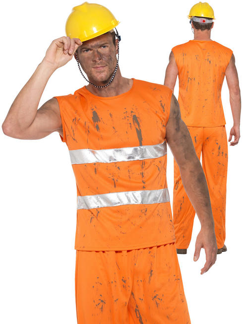 Men's Miner Costume