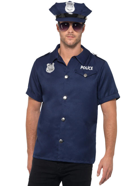 Men's Us Cop Costume