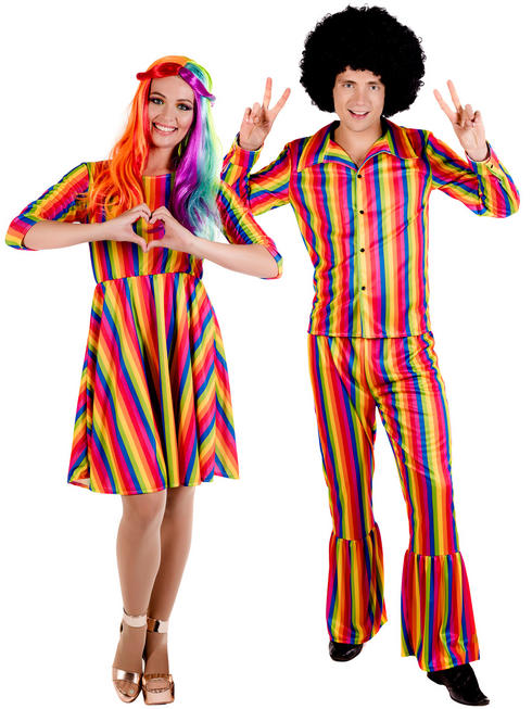 Adult's Rainbow Costume