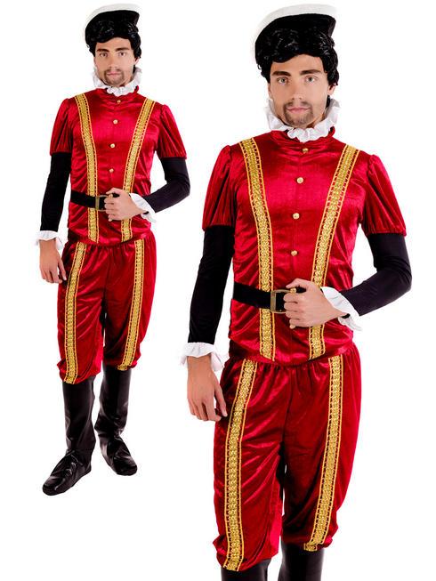 Men's Tudor Earl Costume