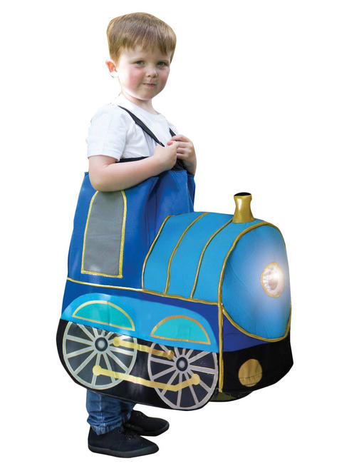 Child's Ride on Train Costume with Lights & Sound