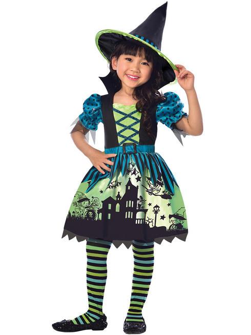 Girl's Hocus Pocus Witch Costume