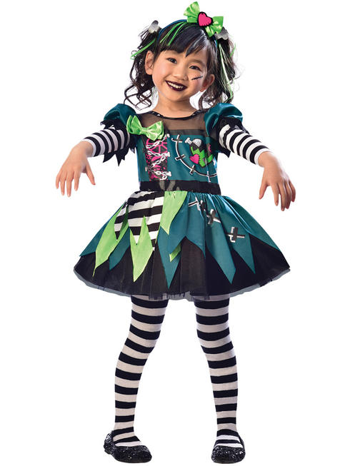 Girl's Little Miss Frankie Costume
