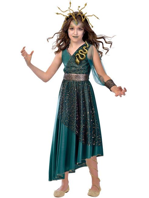 Girl's Medusa Costume