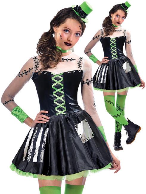 Girl's Freaky Frankie Costume
