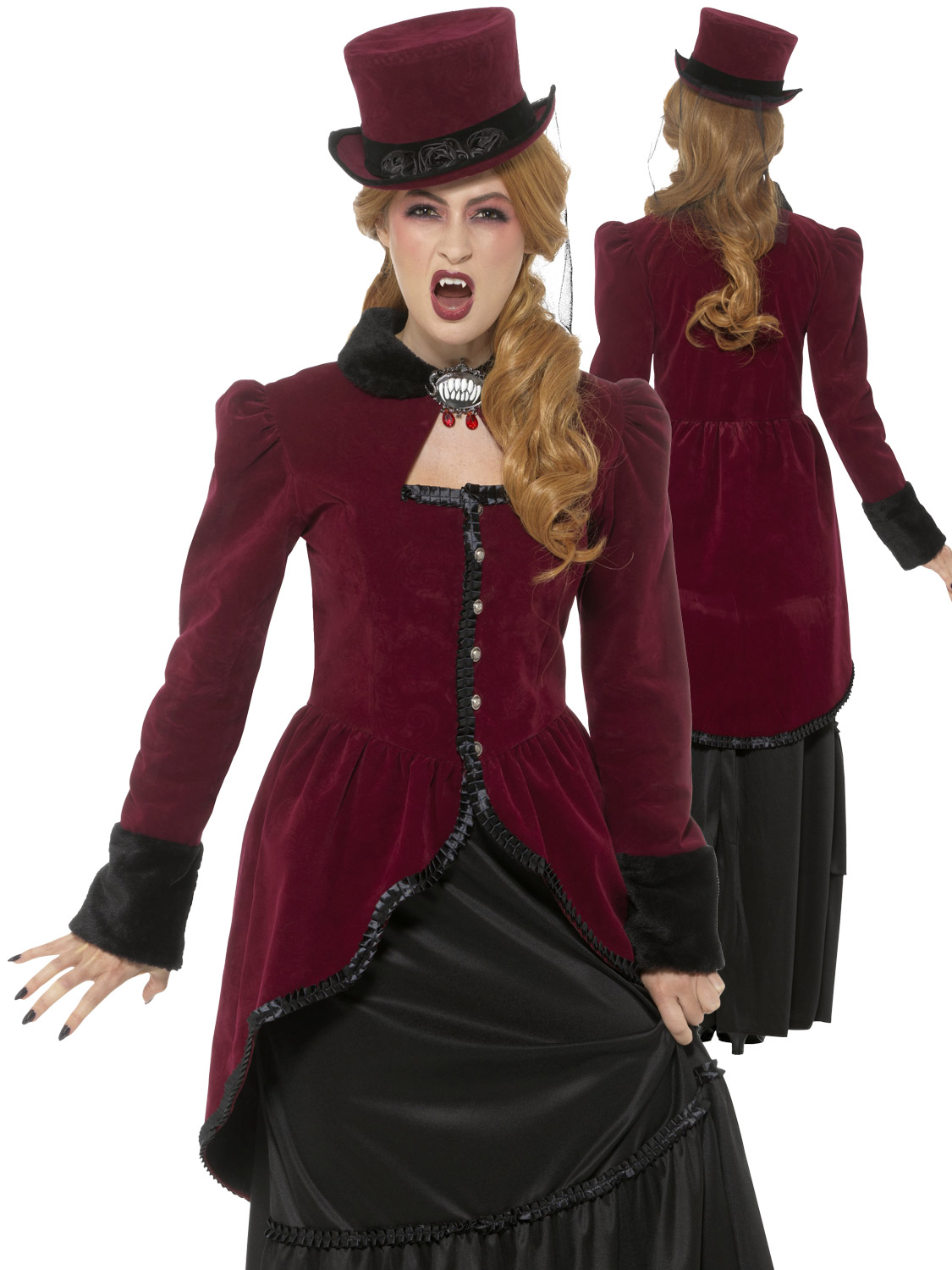Ladies vampire vampiress costume womens victorian medieval halloween transform yourself into a vampire with a difference this halloween with these brilliant victorian and medieval inspired costumes solutioingenieria Gallery