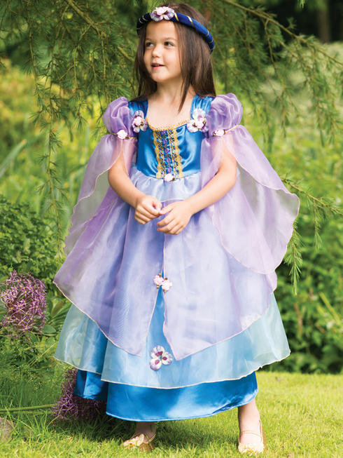 Girl's Orchid Flower Maiden Costume