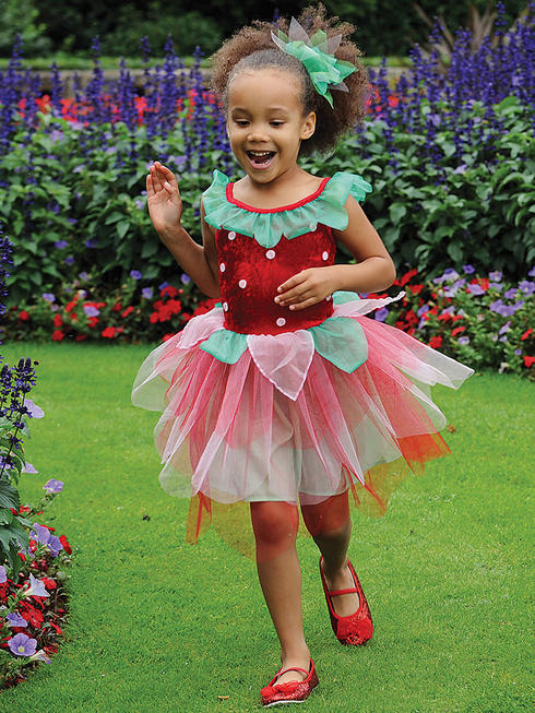 Girl's Strawberry Costume