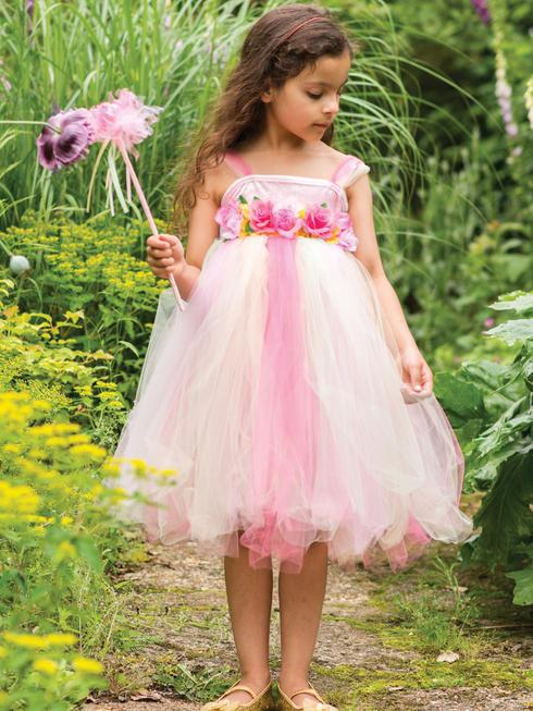 Girl's Summer Fairy & Wand Costume