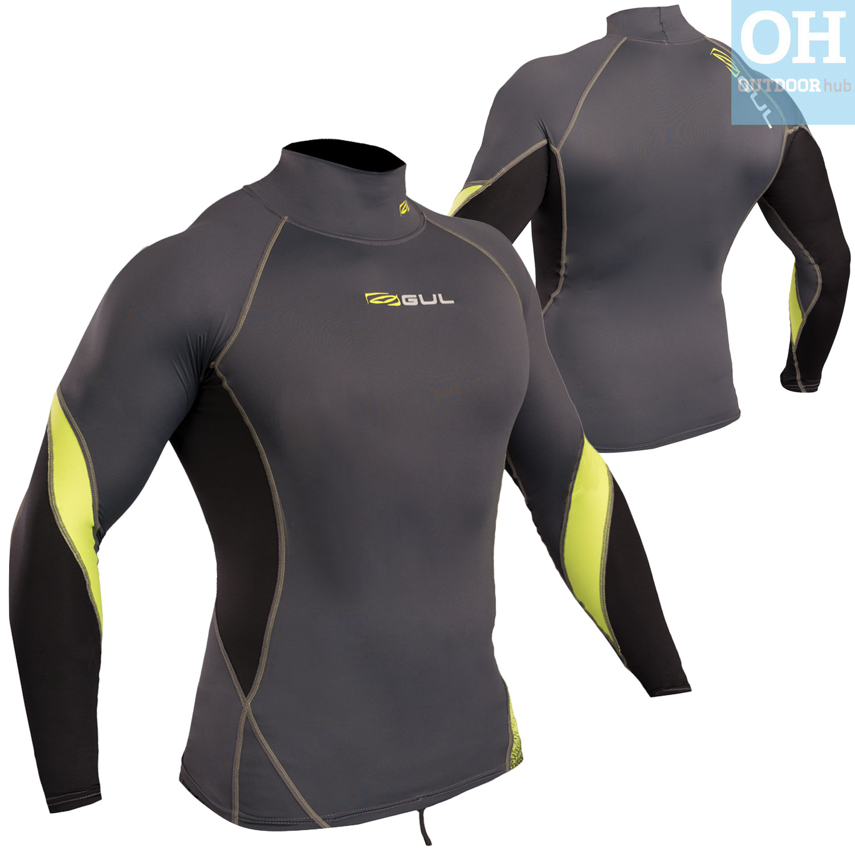 Gul-Xola-Mens-Long-Sleeve-Rash-Guard-Vest-Wetsuit-Top-UV-50-Surf-Swim-Dive thumbnail 20