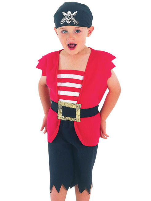 Boy's Toddler Pirate Costume