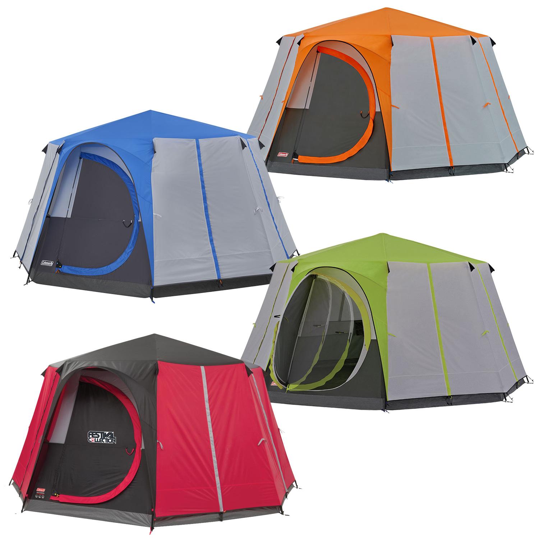 Coleman Cortes Octagon 8 Tent Green