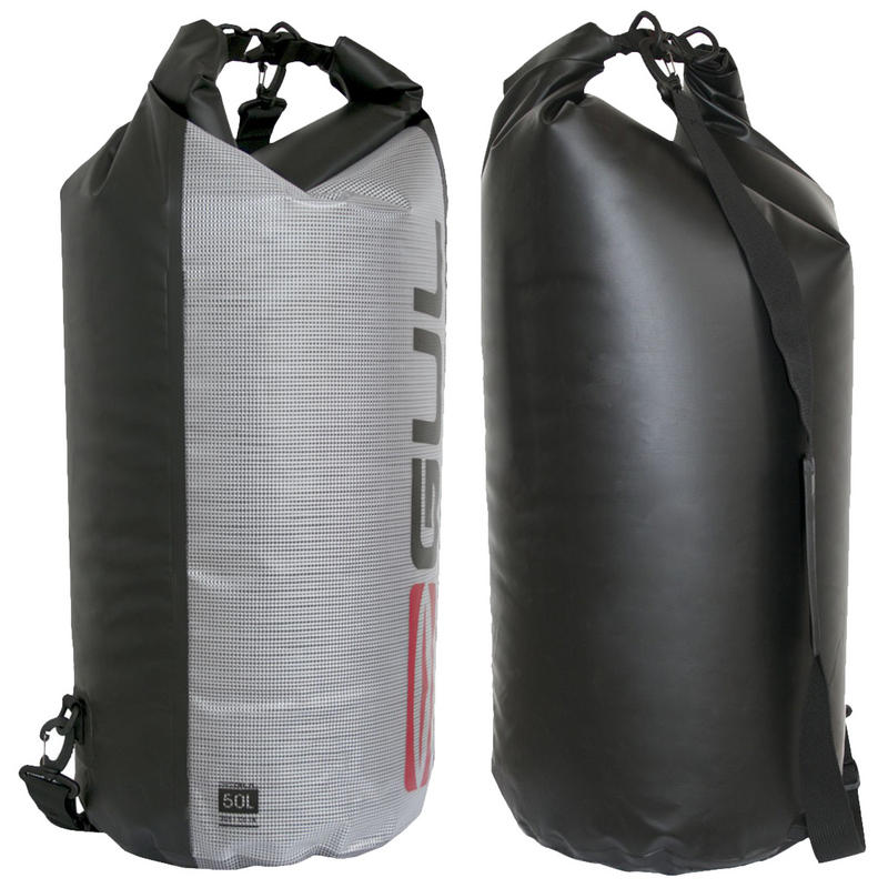 Gul Waterproof 50L Dry Bag Waterproof Sack Kayak Canoe Sailing Rucksack Straps