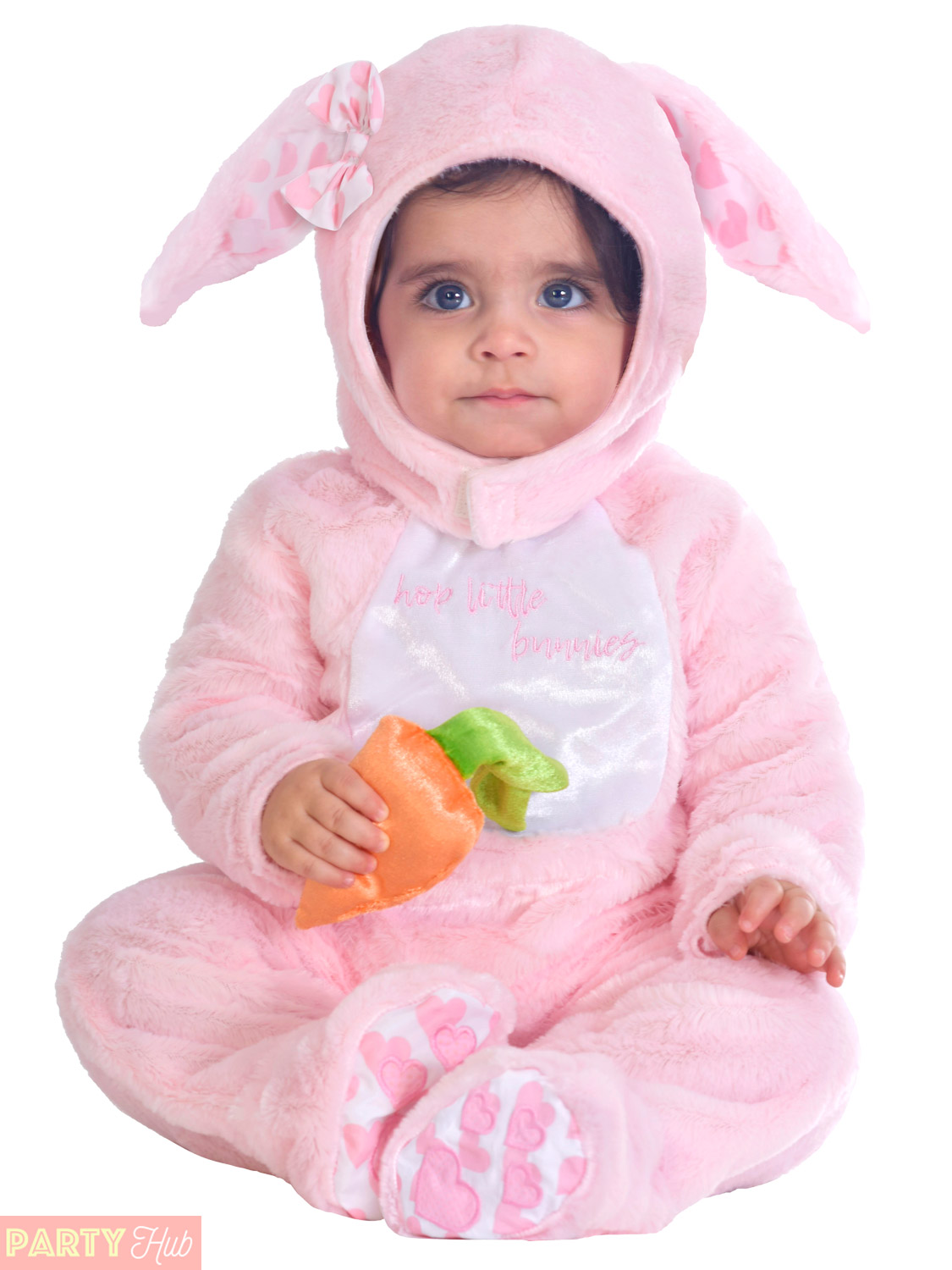 e6fd72c9c Baby Toddler 3-6m Pink Bunny Rabbit Fancy Dress Costume Boys Girls ...