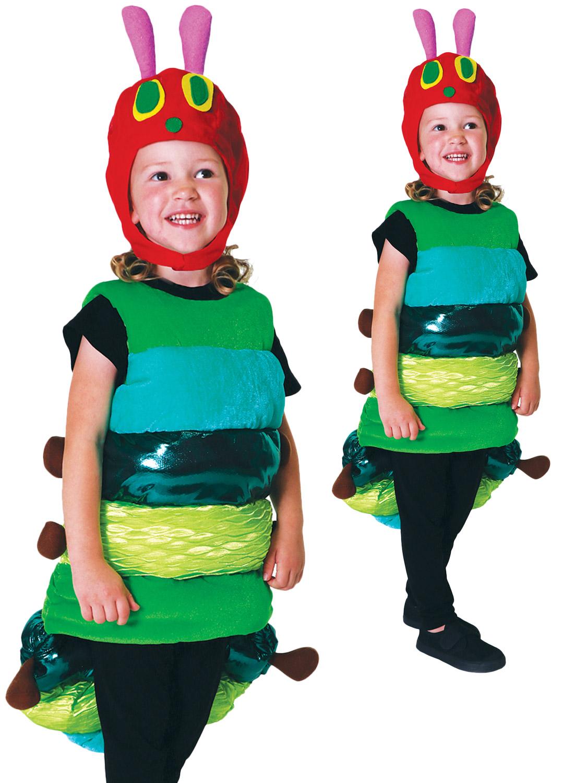 Hungry Caterpillar Kids Costume 3-5 years