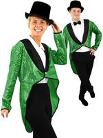 Adults Sequin Tailcoat