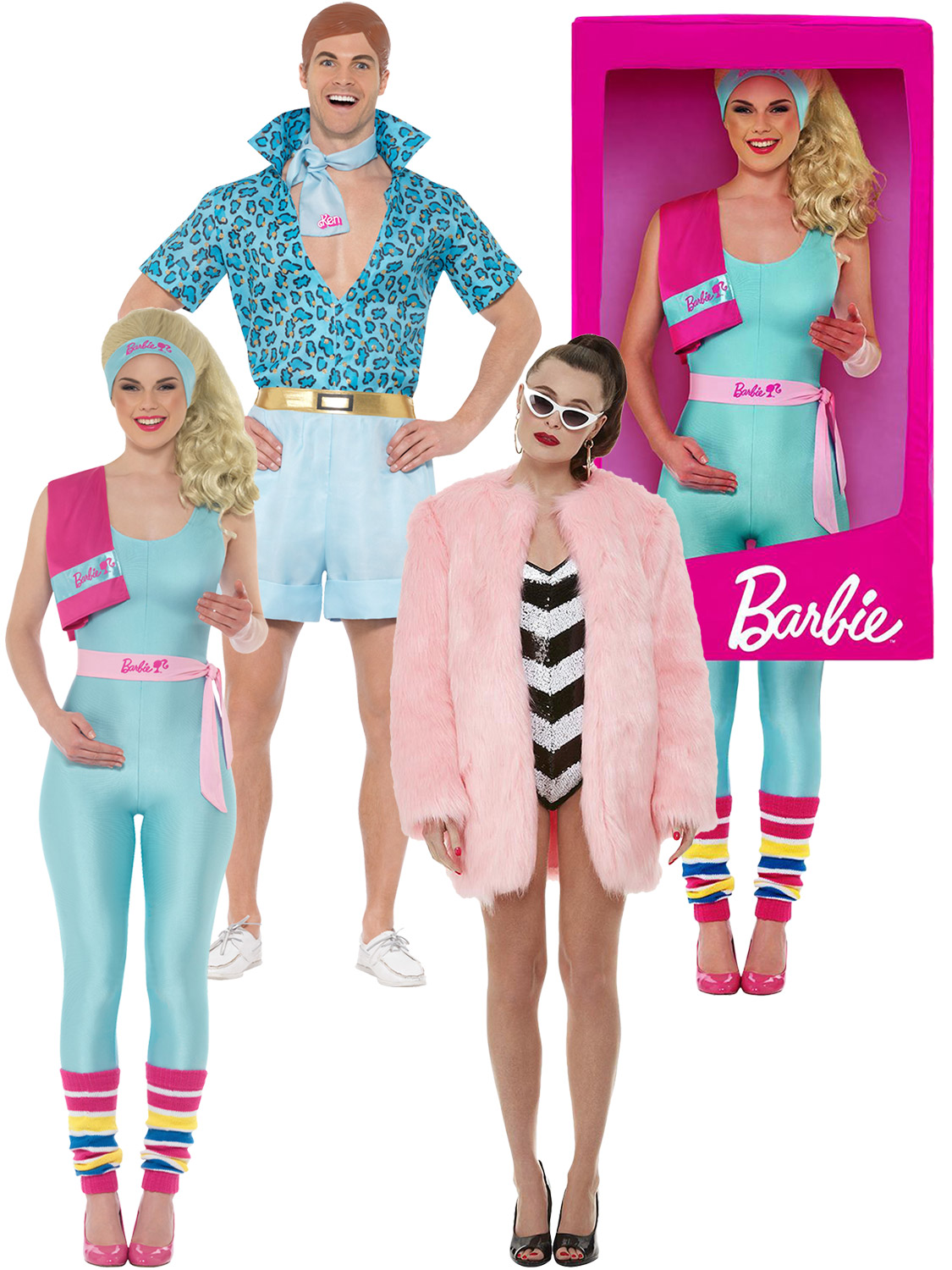 differently best sneakers look out for Details about Ladies Barbie Costume Mens Safari Ken Fancy Dress Adult  Novelty Toy Women Outfit