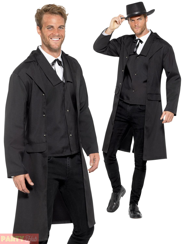 mens bounty hunter costume adults wild west sheriff fancy dress