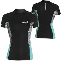C-SKINS SHORT SLEEVE SOLACE CREW NECK RASH VEST