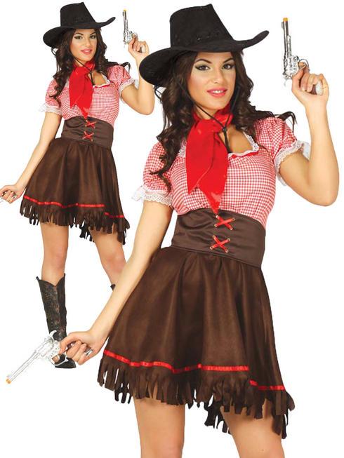 Ladies Cowgirl Costume