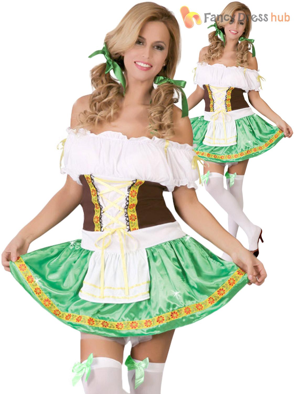 Senoras-Oktoberfest-Bavaro-Disfraz-Adultos-Cerveza-Fest-Vestido-de-fantasia-Traje-para-mujer