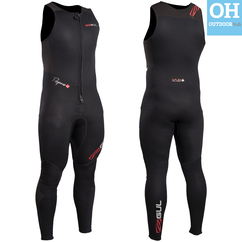 Gul-Response-3mm-2mm-Long-John-Long-Jane-Wetsuit-Neoprene-Front-Zip-Mens-Ladies thumbnail 7