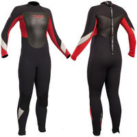GUL RESPONSE JUNIOR 4/3 BS WETSUIT - BLACK / RED