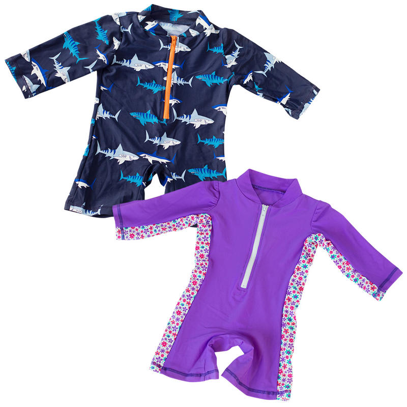 Big Fisch Boys and Girls UV Swim Suits
