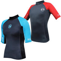 SOLA MENS/LADIES S/S RASH VEST