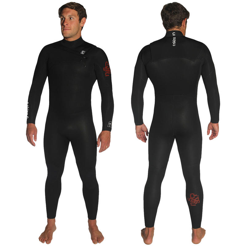 C-SKINS LEGEND 5/4/3 MENS FULL CHEST ZIP WETSUIT