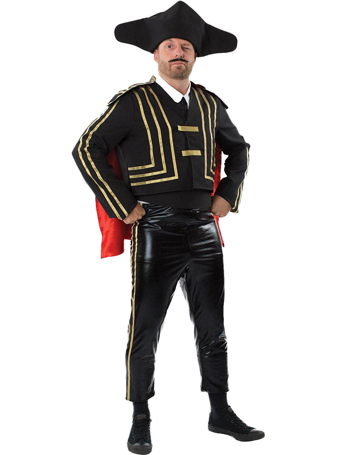 Details about Mens Spanish Matador Costume Adults Bull Fighter Fancy Dress  Stag Party Outfit c52e6a784134